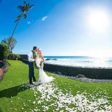 Kona Hawaii Wedding Photographer Alii Drive And The Blue Dragon